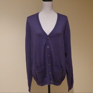 Brooks Brothers NWT Merino Wool Cardigan SIZE L